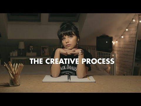 THE CREATIVE PROCESS (not the video you expect)