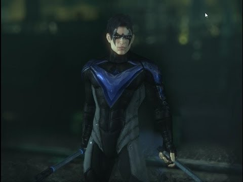 Batman Arkham City Mods Nightwing Injustice - YouTube