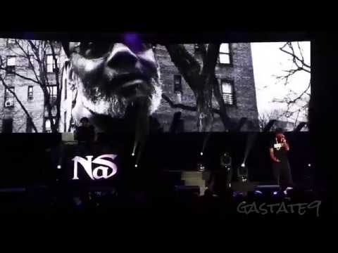 Nas Live Concert Atlanta 2014