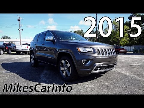 2015 JEEP GRAND CHEROKEE OVERLAND - Ultimate In-Depth Look