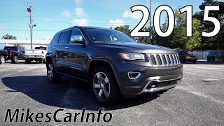 2015 Jeep Grand Cherokee Overland Review