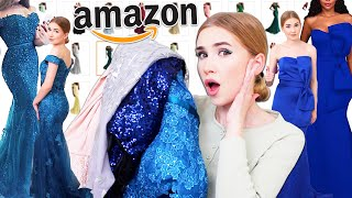 Download TRYING ON AMAZON PROM DRESSES !! ... Again Mp3 and Videos