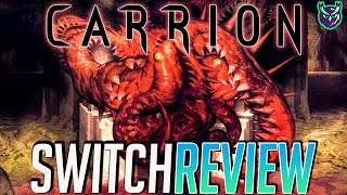 Carrion Switch Review - Become the Monster! (Video Game Video Review)