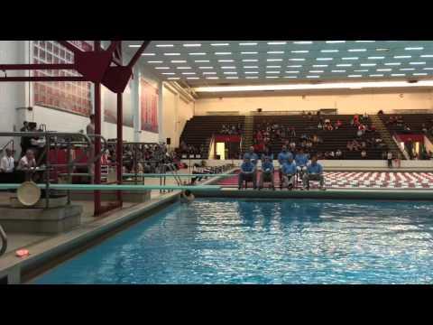 John Andrews Nebraska State Diving Championship