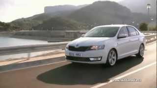 Реклама Шкода Рапид (Skoda Rapid Teaser Commercial)(Склад автомобилей Шкода в Украине (093) 019-03-96., 2012-06-23T09:06:31.000Z)