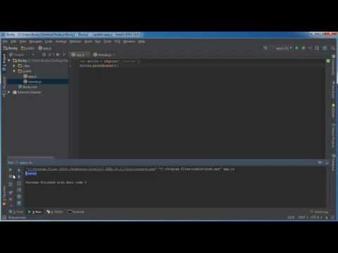 Node.js Tutorial for Beginners - 9 - More on Modules