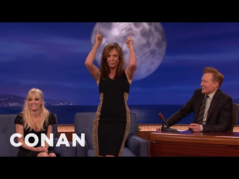 Allison Janney's Disco Stewardess Dance