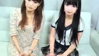 【亜希美】セクシー・ロマンチストあきみんの美味しい顔2011年10月21日 ゲストは韓国アイドルのいのりんことINOAちゃんだよ.