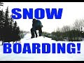 SNOWBOARDING! and SKYDIVING SURPRISE! | Weekly Vlog #6