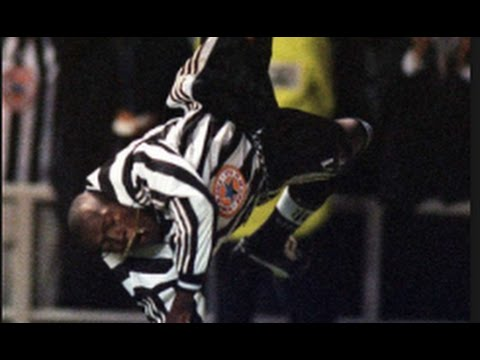 Faustino Asprilla Vs Barcelona (Away) - 97/98