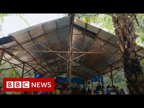 Aceh Christians forced to celebrate Christmas in a tent - BBC News