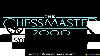 Chessmaster 2000 gameplay (PC Game, 1986)