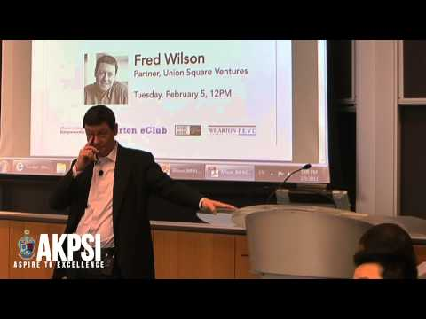 """Fred Wilson - """"On Being A Contrarian"""" (6/7)"""