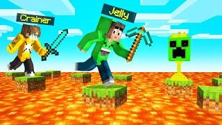 FLOOR IS LAVA In SPEEDRUNNERS vs. HUNTERS! (Minecraft)