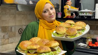 عاوزين تعرفوا مش بخرج ولادي ليه علشان فتحت مطعم في البيت وتحديت ماكدونالز