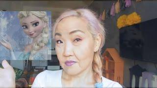 Макияж для белых волос Asian 50+