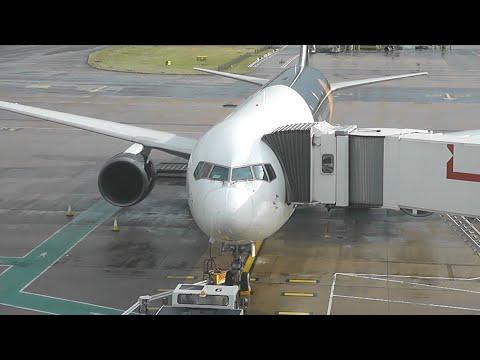 Titan Airways TOM4666 London Gatwick (LGW) - Sofia (SOF) *FULL FLIGHT* Boeing 767-300 G-POWD 5/3/16