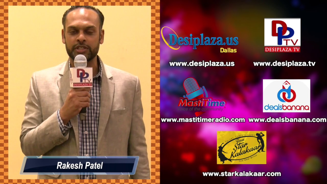 Rakesh Patel, CEO of Patel Law Firm wishes to DesiplazaTV on its 7th Anniversary || Dallas