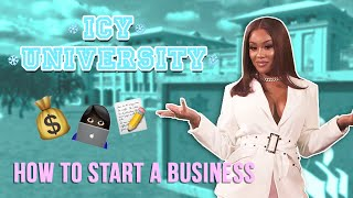 Saweetie - How to Start Your Own Business [Icy University Episode 1]