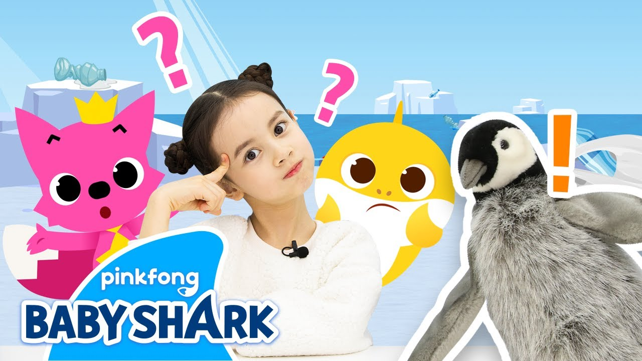 Let's Go to the South Pole with Baby Shark!   Baby Shark Toy Show   Toy Review   Baby Shark Official