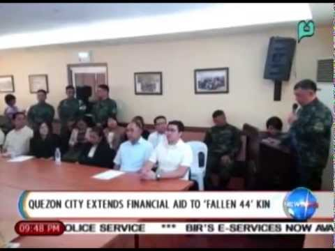 NewsLife: Quezon City extends financial aid to 'Fallen 44' kin || Feb. 12, 2015