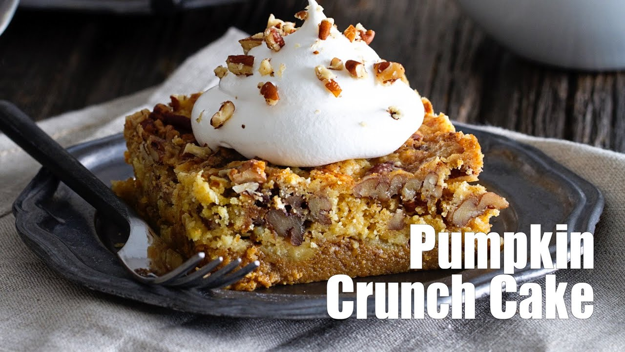 pumpkin crunch cake recipe pumpkin crunch cake recipe 6854