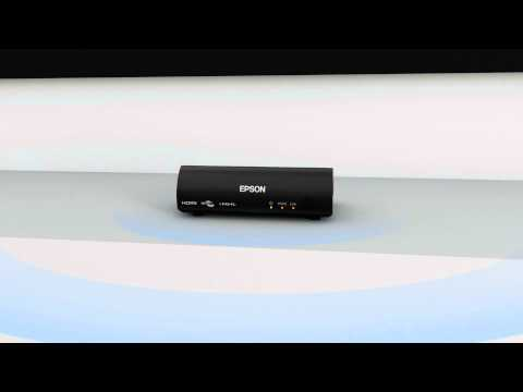 Epson Projectors Features of WirelessHD Transmitter - YouTube