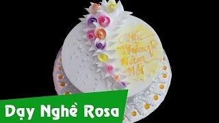 Tổng hợp các mẫu bánh kem sinh nhật tuyệt đẹp