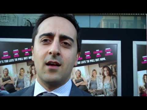 Amir Talai at the 'What to Expect When You're Expecting' L.A. premiere
