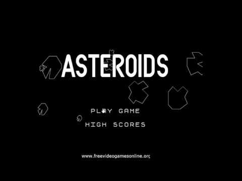 Playing Asteroids!