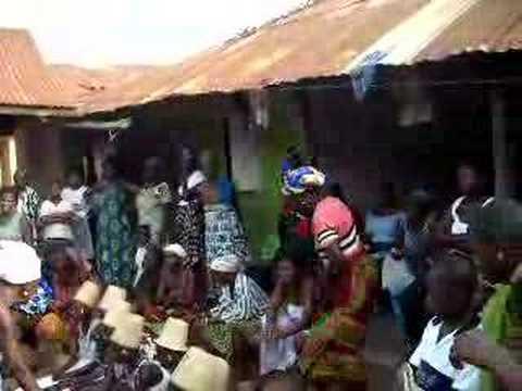 Dipo initiation Somanya Ghana