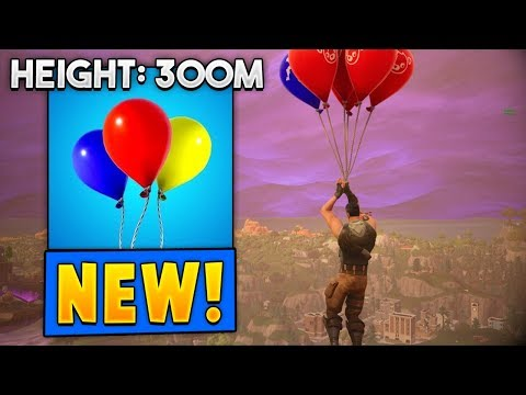 *NEW* Balloons Gameplay in Fortnite! (BEST Travel Tactic!)