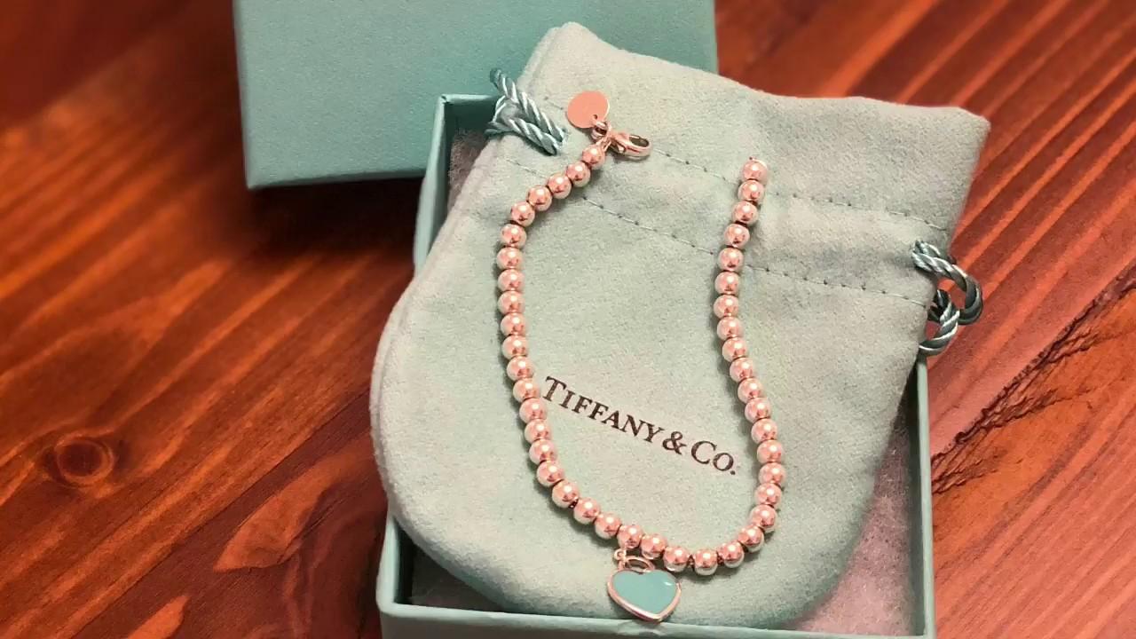 Tiffany And Co Bead Bracelet 2018 Lady Creme Bee