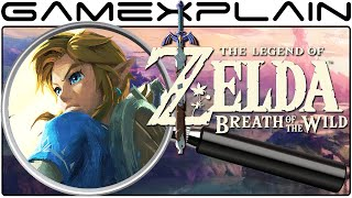 zelda breath of the wild analysis everything secrets hidden details