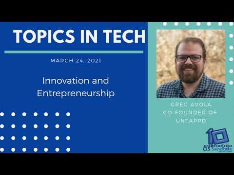 Greg Avola (Untappd) - Topics in Tech