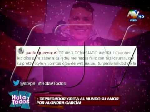 Paolo Guerrero envía emotivo mensaje Alondra García-Miro