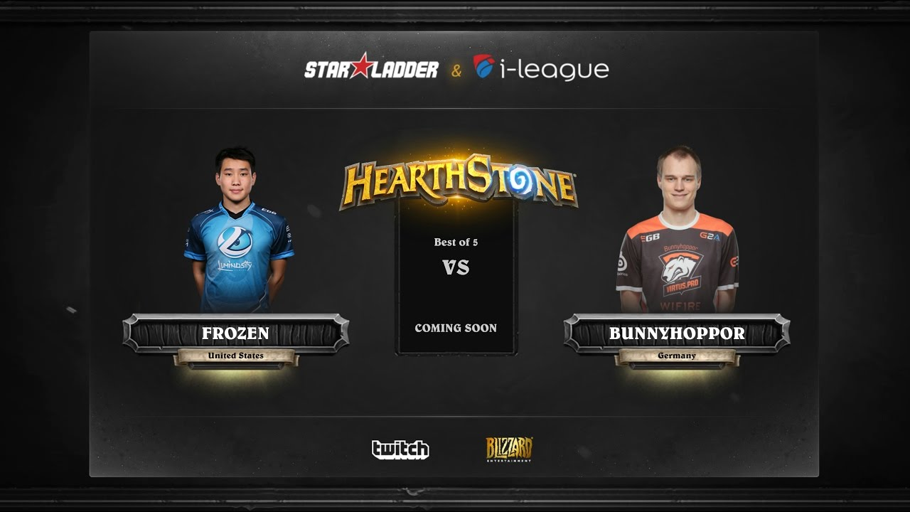 [EN] Fr0zen vs BunnyHoppor | SL i-League Hearthstone StarSeries Season 3 (13.05.2017)