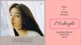 Suzy - Midnight ft. Yiruma (lirik) [Han/Rom/Eng/Ind] | UNeedThis Lyrics