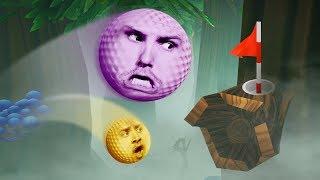 Funny Jungle MiniGolf Challenge! | Golf It