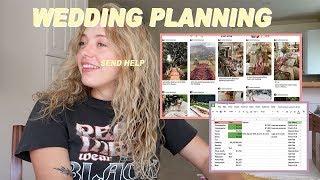 WEDDING PLANNING VLOG | DIY wedding progress