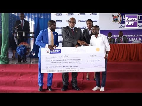 "Cheques Presented For ""Made In Nigeria"" Products in Lagos"