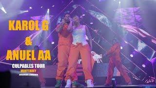 Karol G & Anuel Aa  CULPABLES TOUR EN ARENA MONTERREY 2019