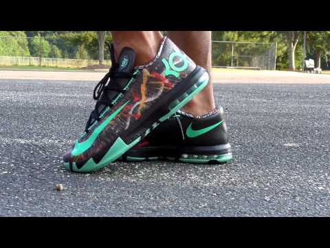 Nike kd 6 All-Star illusion/ on feet - YouTube