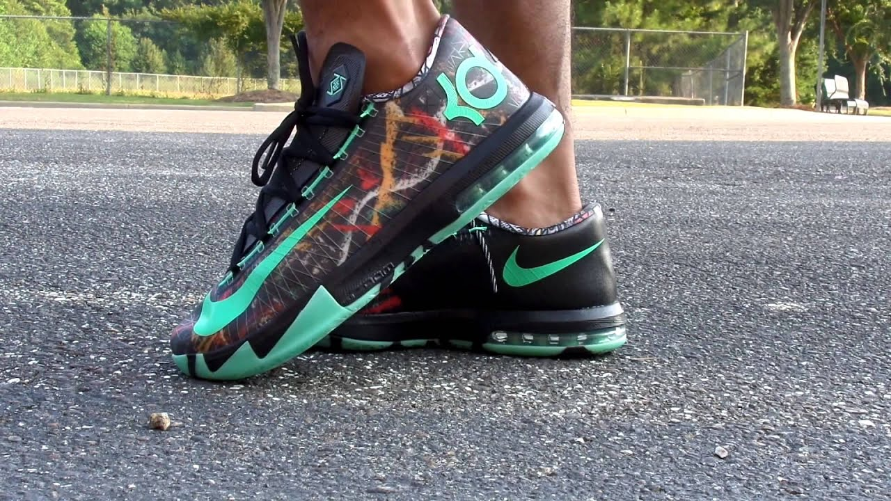 newest 7954d bf789 Nike kd 6 All-Star illusion/ on feet
