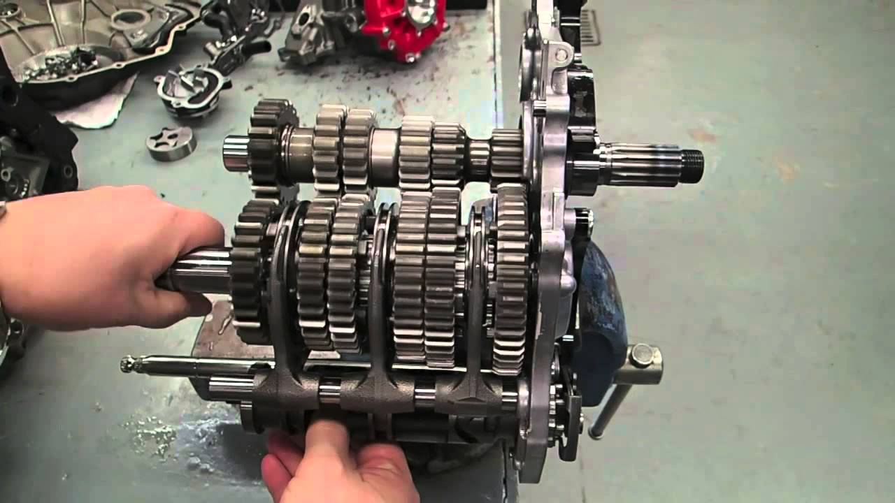 Kawasaki Ninja H2r >> H2R transmission - YouTube