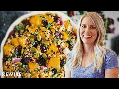 Healthy Meal Prep Butternut Squash Quinoa Salad Kell's Kitchen