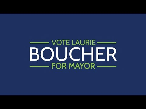 Laurie Boucher for Mayor - A chat with Geoff Spencer