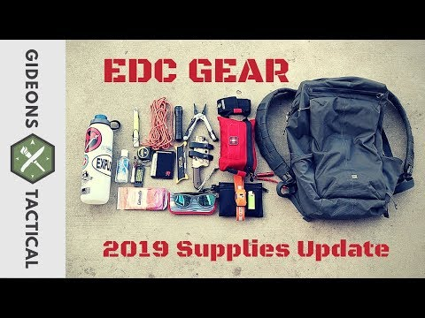 2019 Supplies Update! What Is In My EDC Bag?