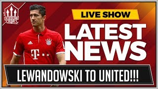 Robert Lewandowski to Manchester United is a real possibility this ...