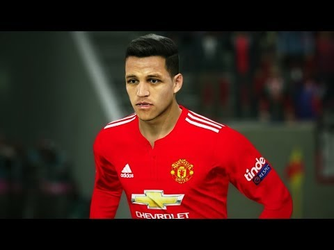 Manchester United vs Arsenal (Sanchez Scored 3 Goals) 2018 Gameplay